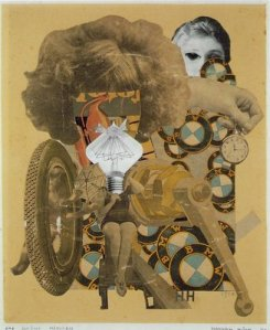 The beautiful girl by Hannah Höch
