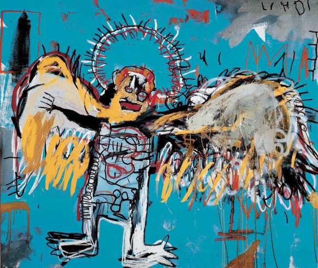 Ángel caído | JMBasquiat