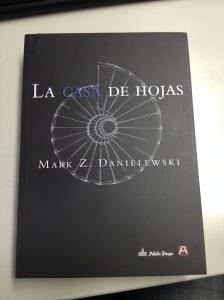 Tapa de La Casa de Hojas