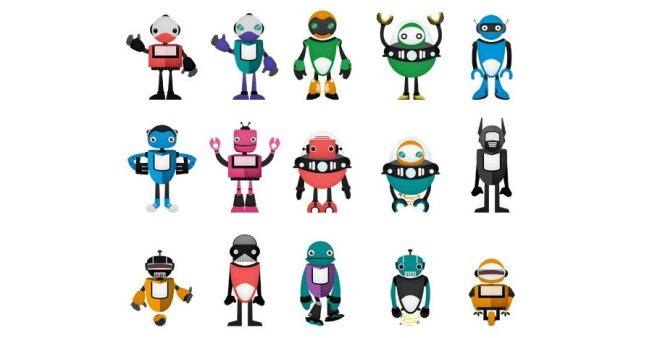 robots-vectorizados-tres